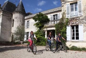Bordeaux balade vélo vignobles dégustation vins