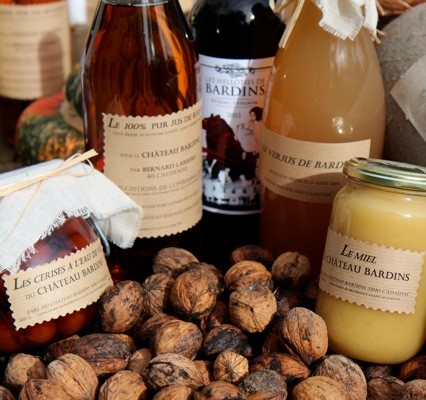 Gourmandises Château Bardins