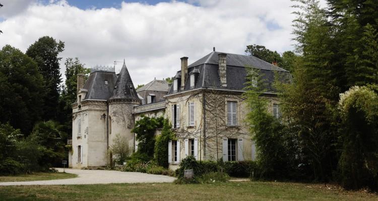 Visit in bordeaux - Château Bardins