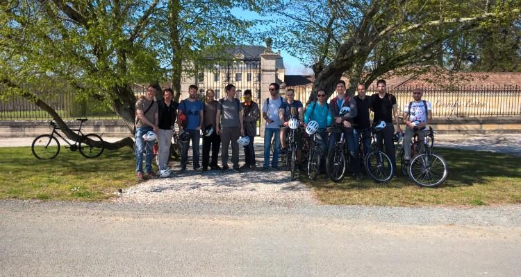 bordeaux bike tour and tasting