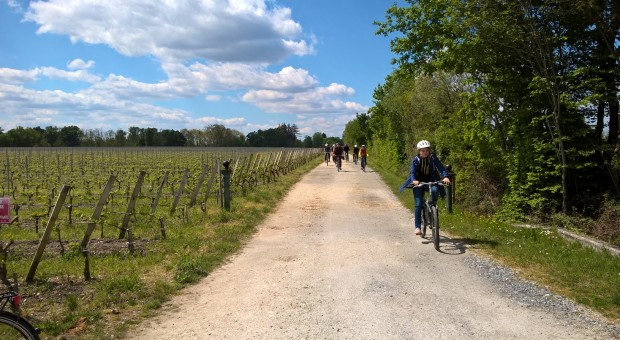 bordeaux bike wine tour