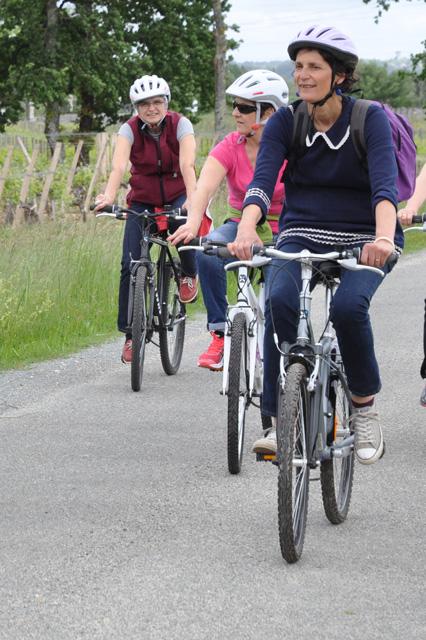bordeaux a vélo avec Pascale Larroche