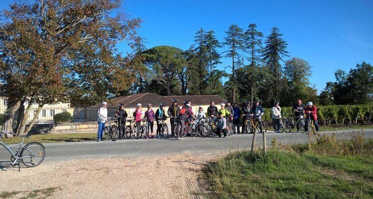 photo de randonneurs à vélo