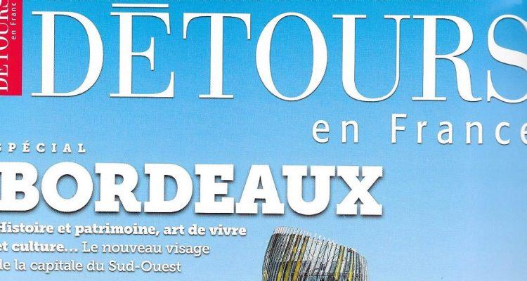 couverture du magazine DETOUR en France
