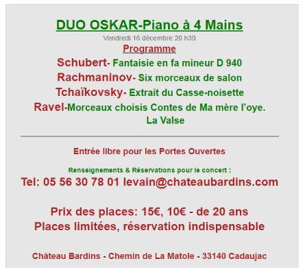 programme concert