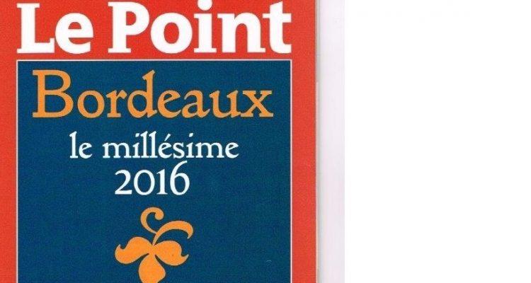 Vin bordeaux millesime 2016