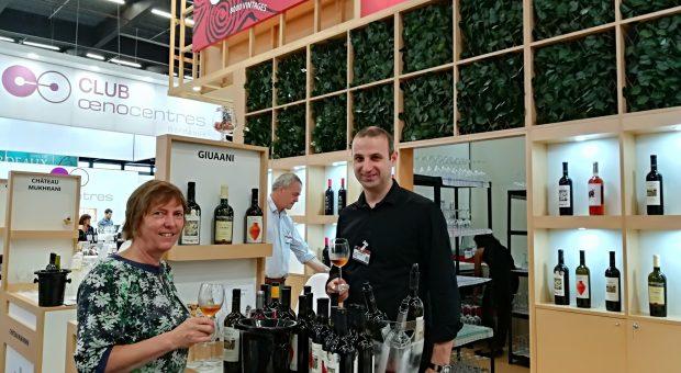 Vinexpo bordeaux, visite et dégustation de vins de géorgieustation