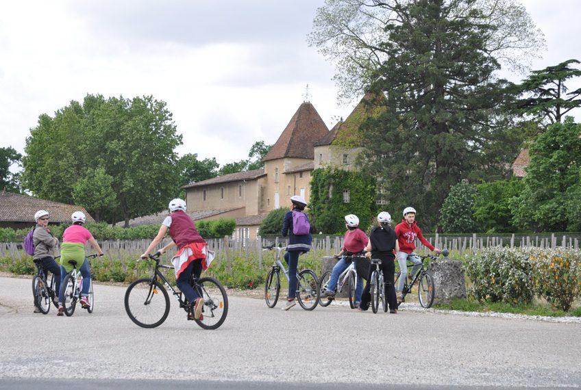 balade vélo vignoble bordeaux