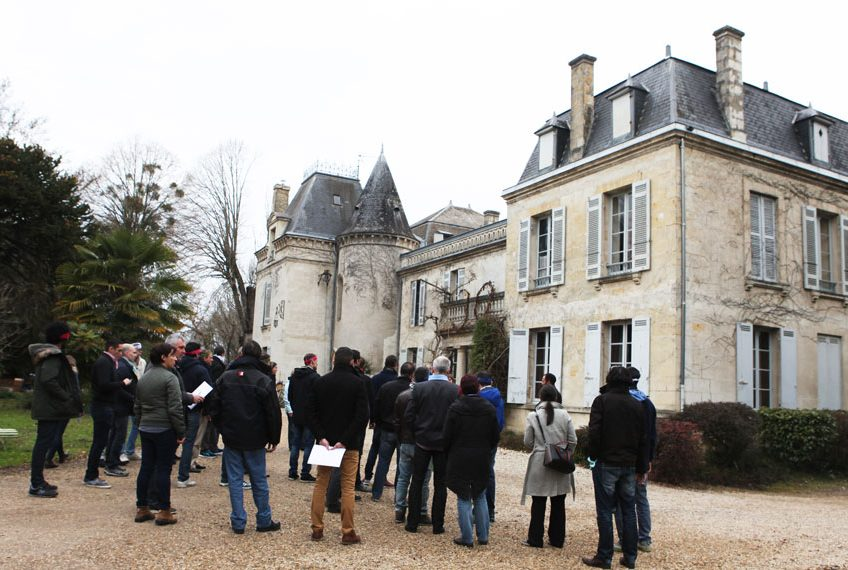 team building au chateau bardins bordeaux pessac leognan