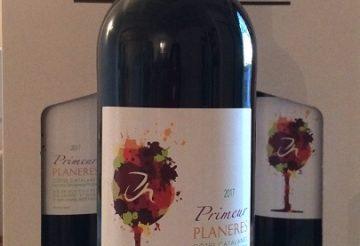 photo bouteille vin primeur