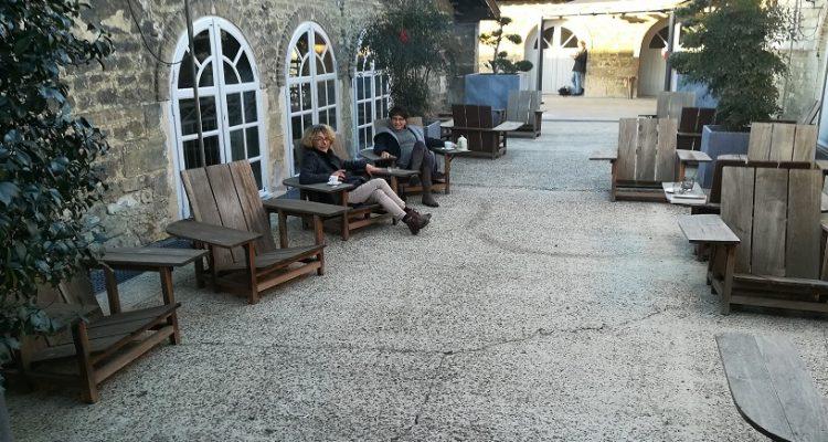 image des terrasses du capc