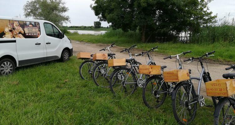 balade à vélo à Margaux