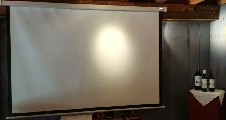 écran pour vidéo projecton
