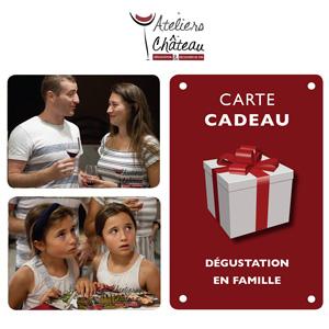 Carte Cadeau dégustation en famille