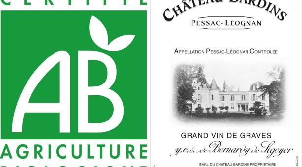 etiquette vin de cht bardins