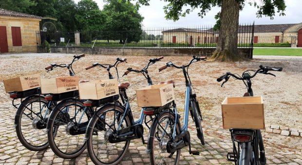 balade a vélo pour visiter les chateau